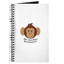 No Monkey Business Journal