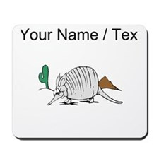 Custom Cartoon Armadillo Mousepad