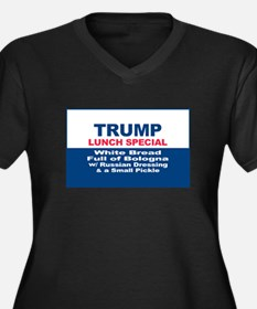 President Trump Lunch Special Plus Size T-Shirt
