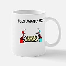 Custom Ants Playing Chess Mugs