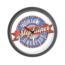 World's Greatest Stepfather Wall Clock