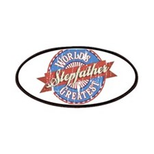World's Greatest Stepfather Patches