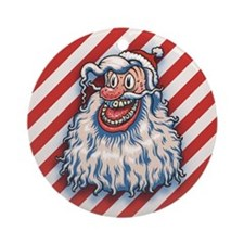 lowbrow-santa-LTT.png Ornament (Round)