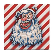 lowbrow-santa-LTT.png Tile Coaster