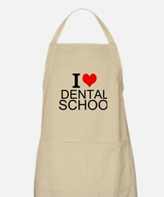 I Love Dental School Apron