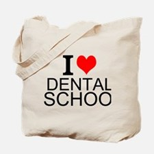 I Love Dental School Tote Bag