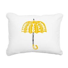 HIMYM Umbrella Rectangular Canvas Pillow