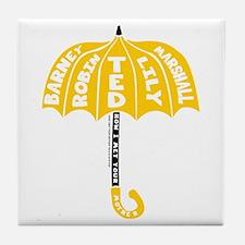 HIMYM Umbrella Tile Coaster