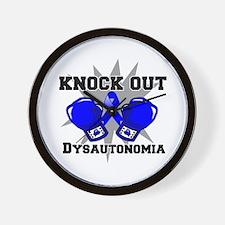 Knock Out Dysautonomia Wall Clock