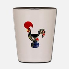 Cute Portugal rooster Shot Glass