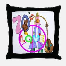 The 70's Throw Pillow