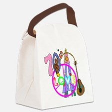 The 70's Canvas Lunch Bag
