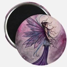 Starlit Amethyst Fairy Art Magnets
