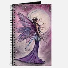 Starlit Amethyst Fairy Art Journal