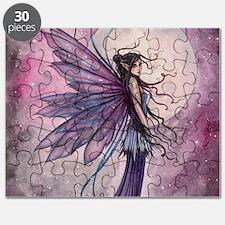 Starlit Amethyst Fairy Art Puzzle