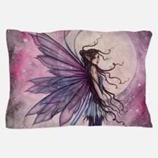 Starlit Amethyst Fairy Art Pillow Case