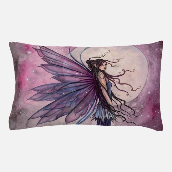 Starlit Amethyst Fairy Art Pillow Case