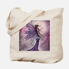 Starlit Amethyst Fairy Art Tote Bag