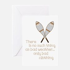 Bad Weather Greeting Cards
