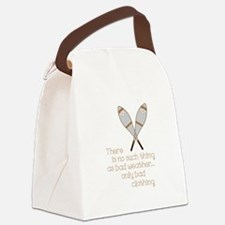 Bad Weather Canvas Lunch Bag