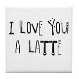 Latte coaster Drink Coasters