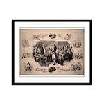 Masonic Grand Master Framed Panel Print