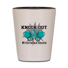 Myasthenia Gravis Shot Glass