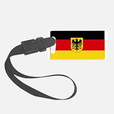 German COA flag Luggage Tag