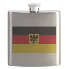 German COA flag Flask