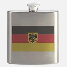 German COA flag Flask