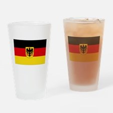 German COA flag Drinking Glass