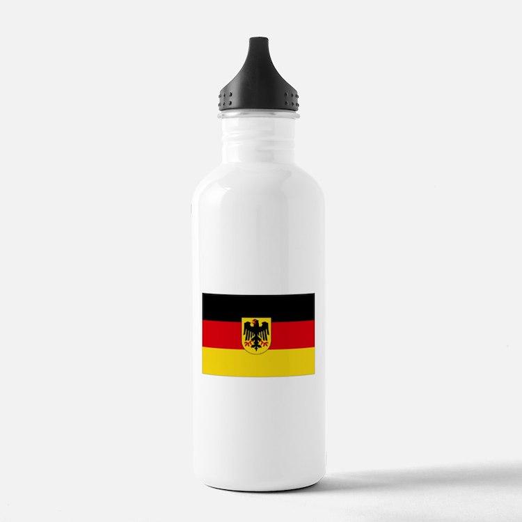 German COA flag Water Bottle
