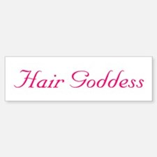 3-hairgoddess.png Bumper Bumper Bumper Sticker