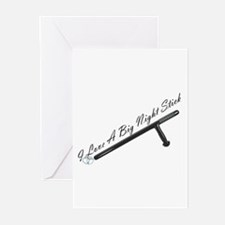 Night Stick Greeting Cards (Pk of 10)