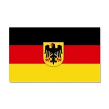 German COA flag Car Magnet 20 x 12