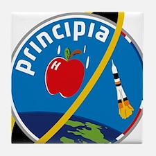 Principia Mission Logo Tile Coaster