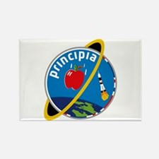 Principia Mission Logo Rectangle Magnet Magnets