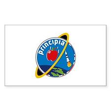 Principia Mission Logo Sticker (rectangle)