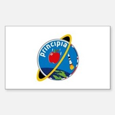 Principia Mission Logo Sticker (rectangle)