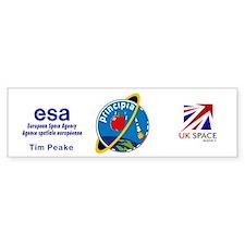 Principia Mission Logo Bumper Sticker