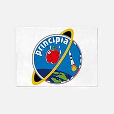Principia Mission Logo 5'x7'Area Rug