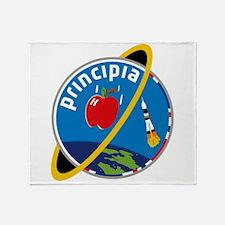 Principia Mission Logo Throw Blanket