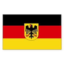 German COA flag Decal