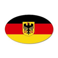 German COA flag Wall Sticker