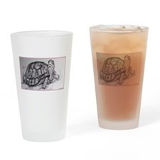 Turtle, tortoise, nature art Drinking Glass