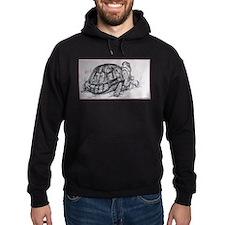 Turtle, tortoise, nature art Hoodie