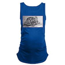 Turtle, tortoise, nature art Maternity Tank Top