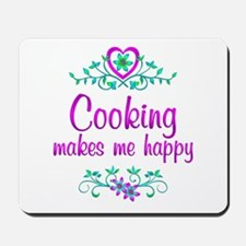 Cooking Happy Mousepad