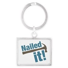 Nailed It Landscape Keychain