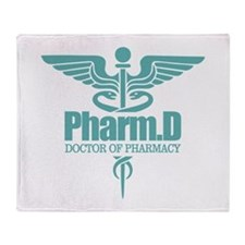 PharmD Throw Blanket